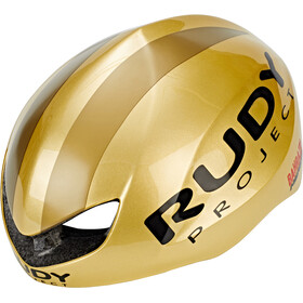 Rudy Project Boost Pro Casco, gold shiny